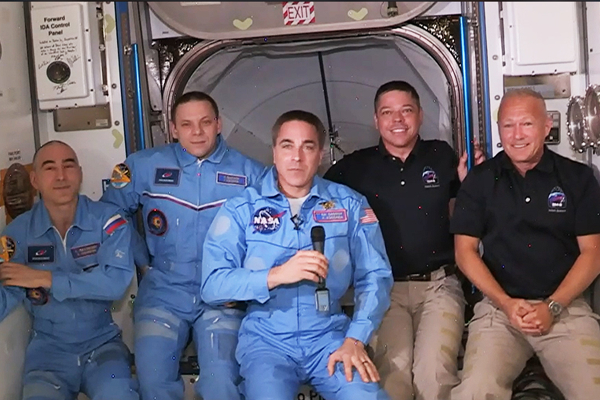 NASA, International Space Station, SpaceX, astronauts