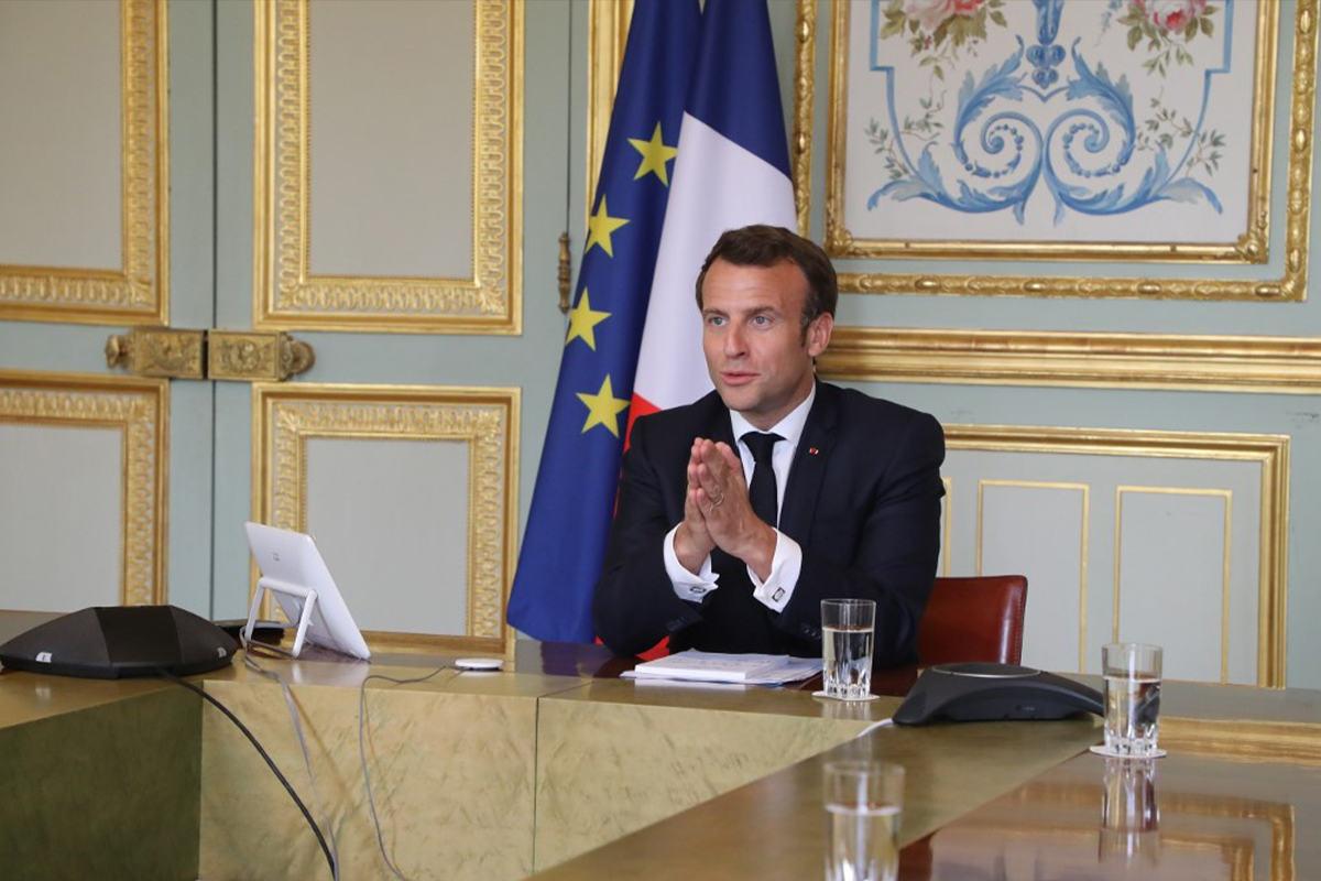 Emmanuel Macron Tv Address France Borders Cafes And Restaurants To Reopen