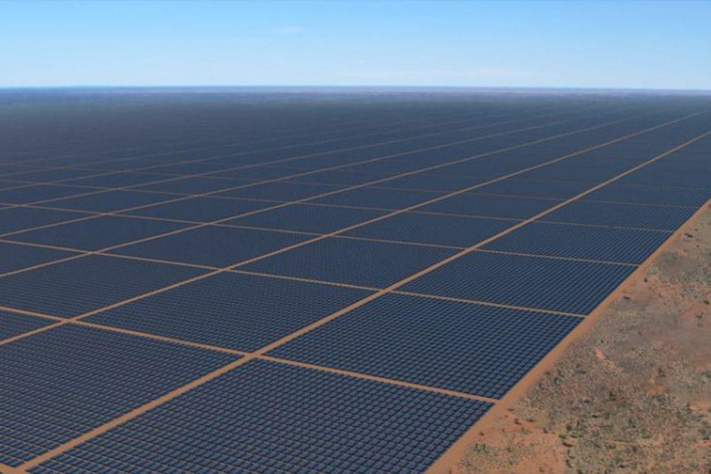 solar farm, sun cable