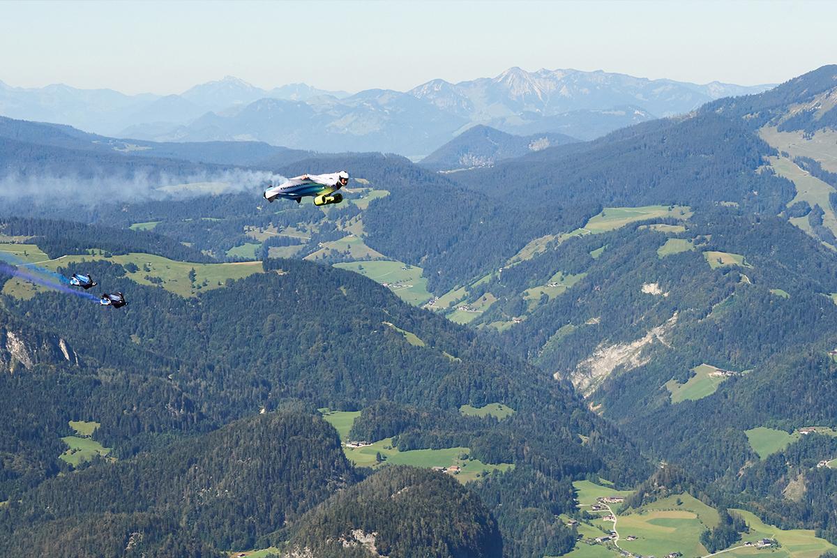 BMW Group, Peter Salzmann, Electrified wingsuit